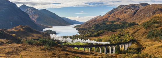 Glenfinnan Viaduct in Schottland