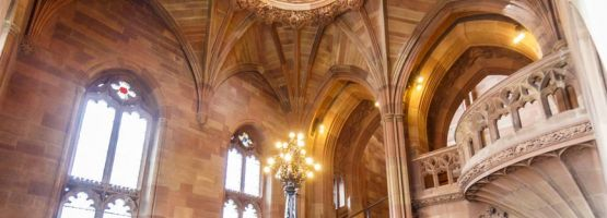 The John Ryland Library, Manchester