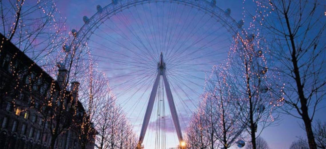 La noria más famosa, el London Eye
