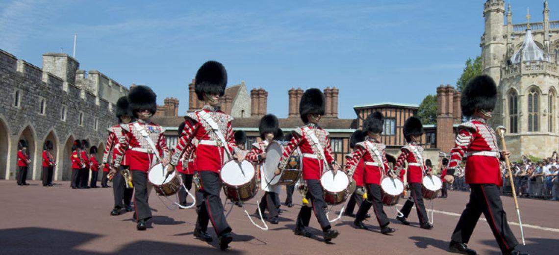 Cambio de guardia en Windsor