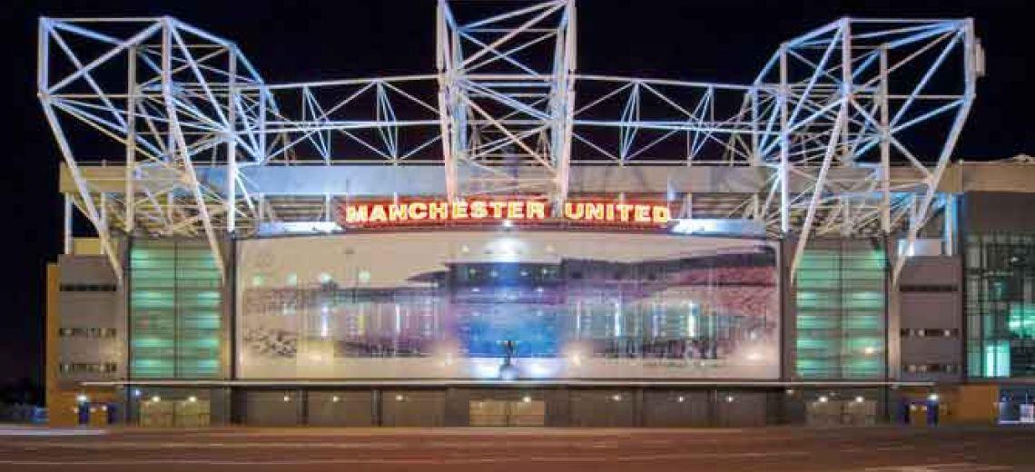 Estadio del Manchester United