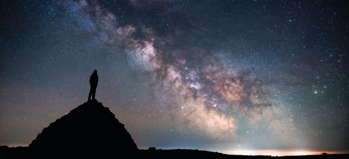 El Parque de Cielo Oscuro de Exmoor.