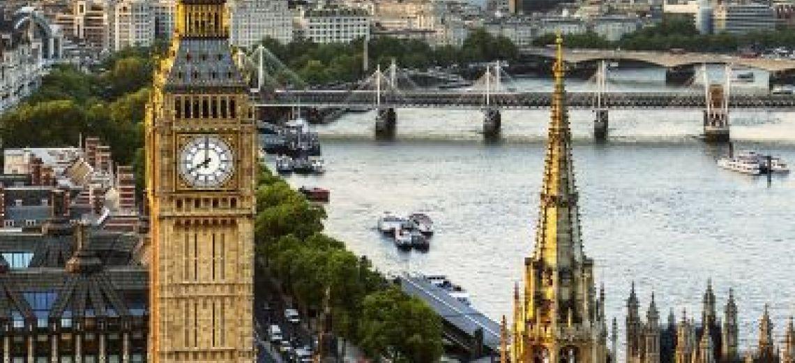 Londres desde las alturas