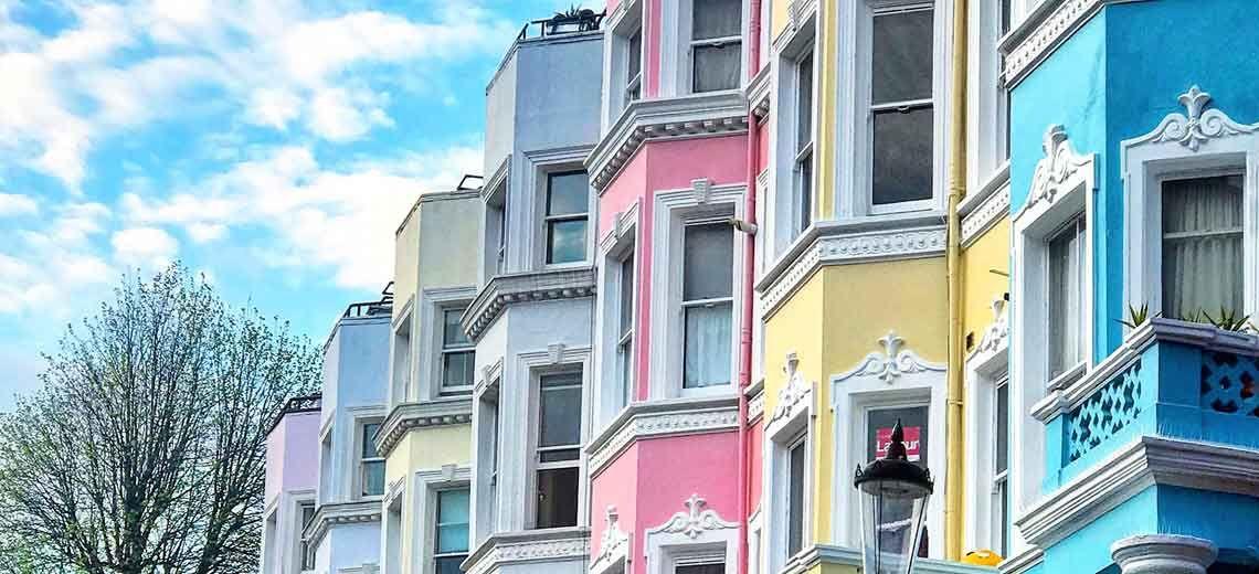 Notting Hill, el barrio de Londres con más color