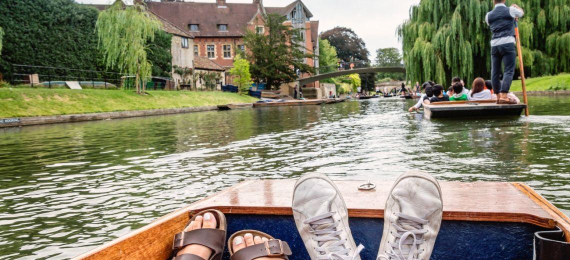 Relax en el río Cam