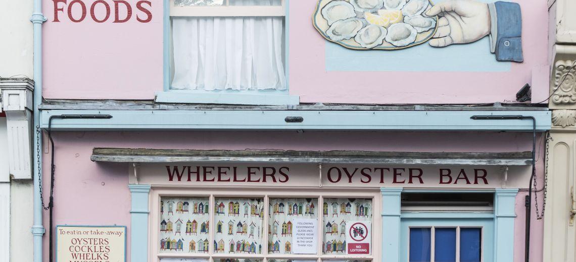 Wheeler's Oyster bar, Whitstable
