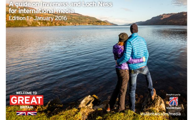 A guide on Inverness and Loch Ness for international media