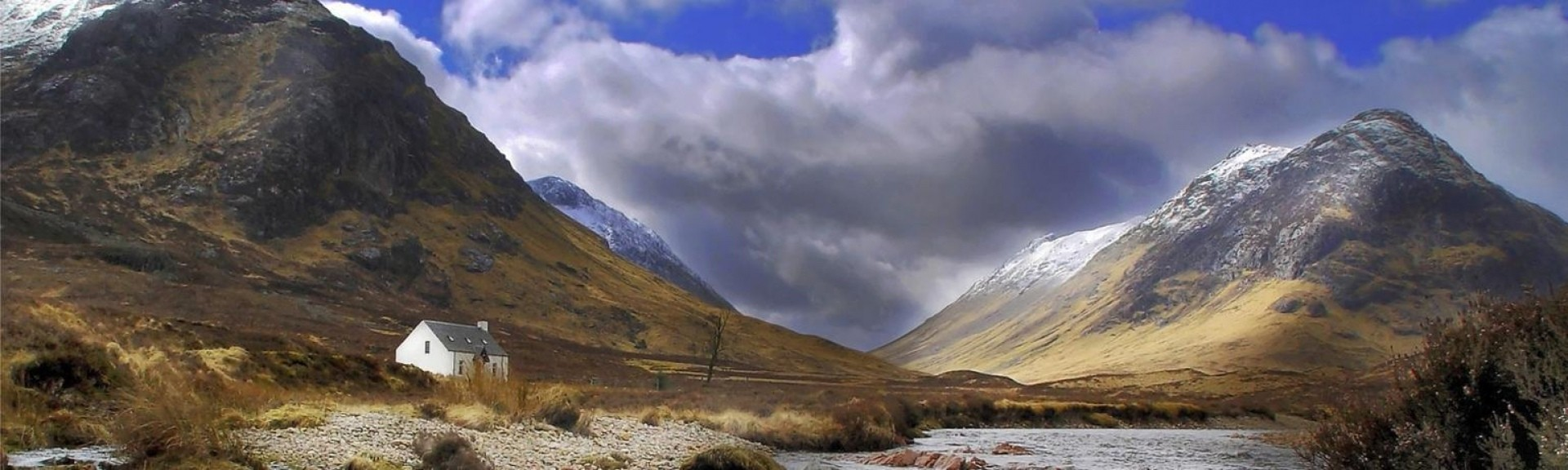 Glen Coe in the Scottish Highlands