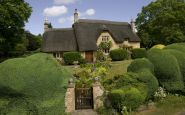 Ein typisches Cottage in Chipping Campden in den Cotswolds