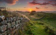 Følg Hadrians mur i det nordvestlige England