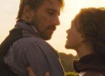 Scene from Far from the Madding Crowd film in Dorset, England