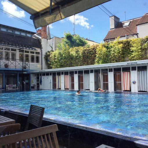 Enjoy laps and lunch at Bristol Lido