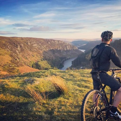 Mountain biking in Elan Valley