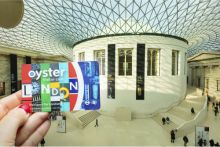 Oyster and travel card