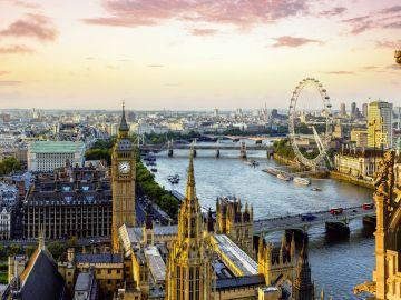 Vista di Londra dall'alto