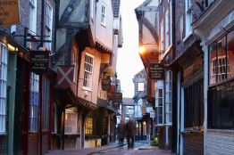Shambles, York, Angleterre.