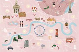 Uma Segunda Chance Para Amar - Mapa de Londres