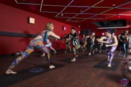 Disco Yoga with Mocktail