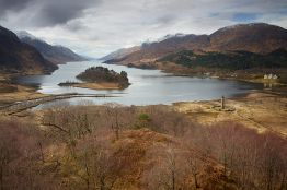 Glenfinnan is a village in the Lochaber area of the Highlands, at the end of Loch Shiel, at the foot of Glenfinnan. ©VisitBritain/Joe Cornish