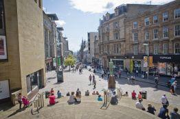 Buchanan Street, Glasgow. Credit: VisitScotland/Kenny Lam.