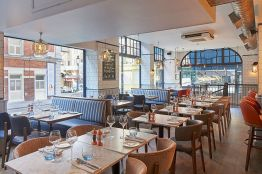 Fishworks seafood restaurant , Covent Garden, London