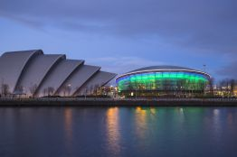 Glasgow music venues. The Armadillo, Hydro and SECC. Credit: VisitScotland/Kenny Lam