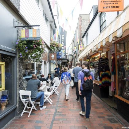Brighton Lanes, Angleterre