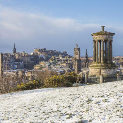 Calton Hill, Edinburgh. Credit: VisitScotland/Kenny Lam