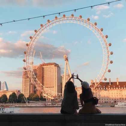 London Eye, London, Greater London.