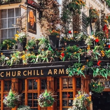 Churchill Arms, London