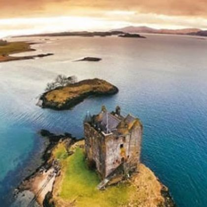 Castle Stalker, Schotland