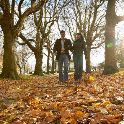 Rutas de otoño en Gran Bretaña