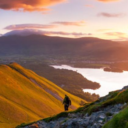 Wandelen in het Lake District, Noord-Engeland