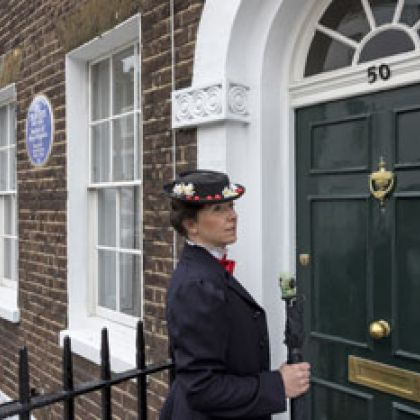 Mary Poppins in Chelsea, Londen