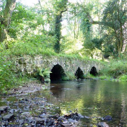 Pack Horse Bridge Gower Wales