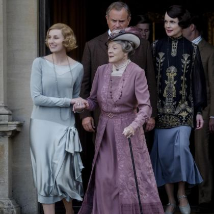 The stars of Downton Abbey