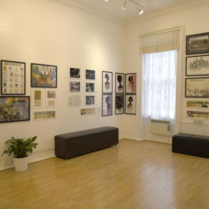 Black History Month 2020 exhibition in London's Zari Gallery. Credit to Zari Gallery