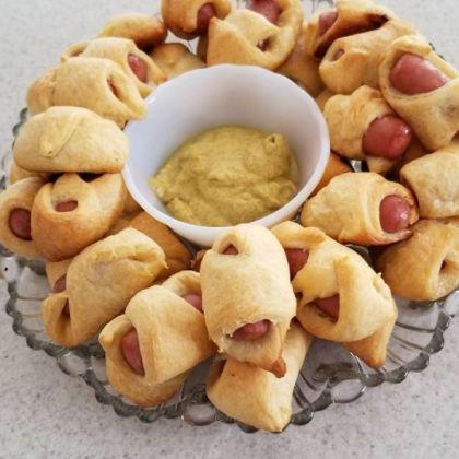 Traditionele Britse kerstsnack: Pigs in Blankets