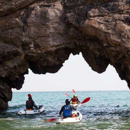 Kayaking en Gales