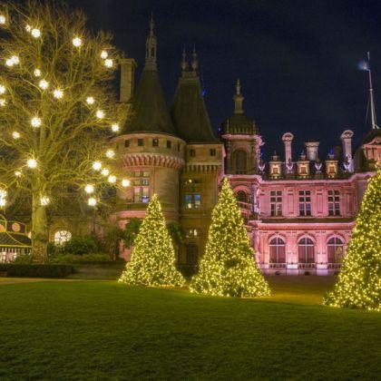 Kerstbomen voor Waddesdon Manor, Engeland