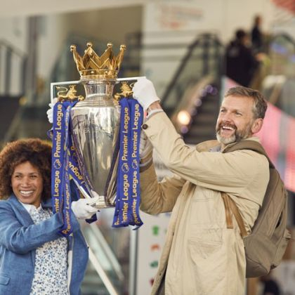 De beker van de Premier League