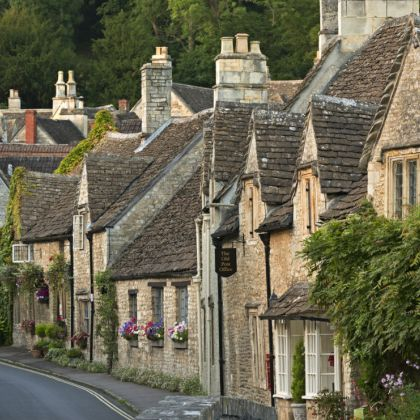 Castle Combe in den Cotswolds