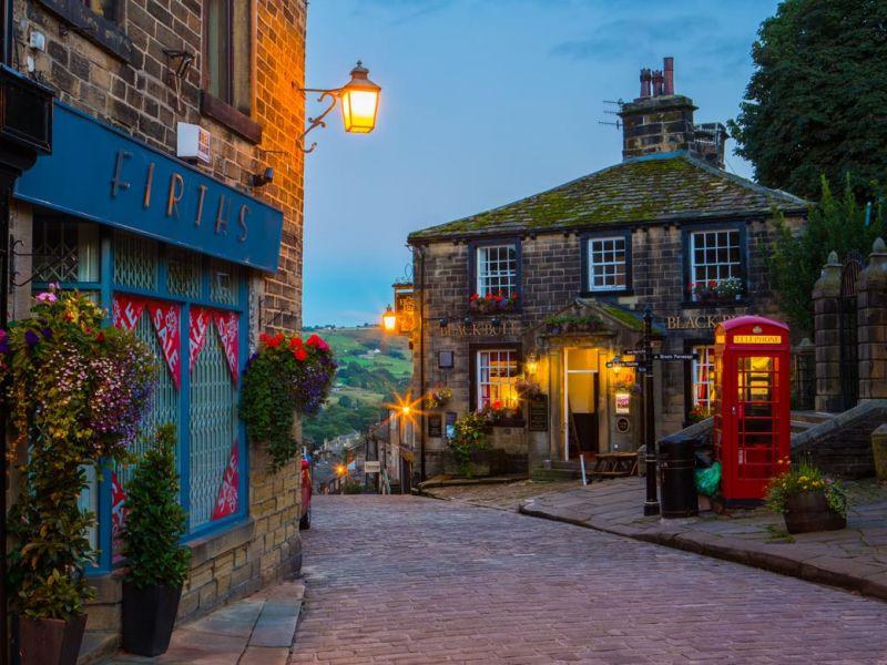 O Morro dos Ventos Uivantes (Wuthering Heights) - Haworth, Yorkshire, Inglaterra