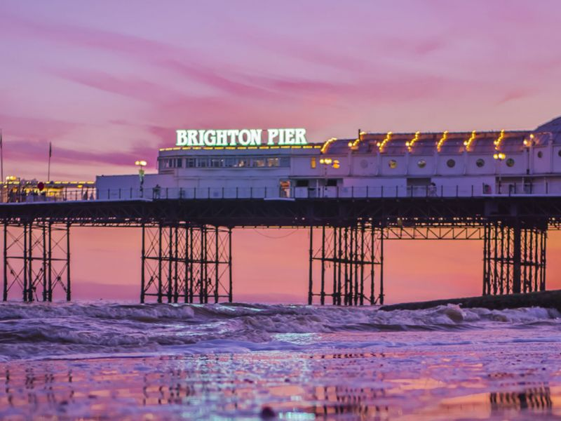 Brighton Pier, Brighton, Angleterre