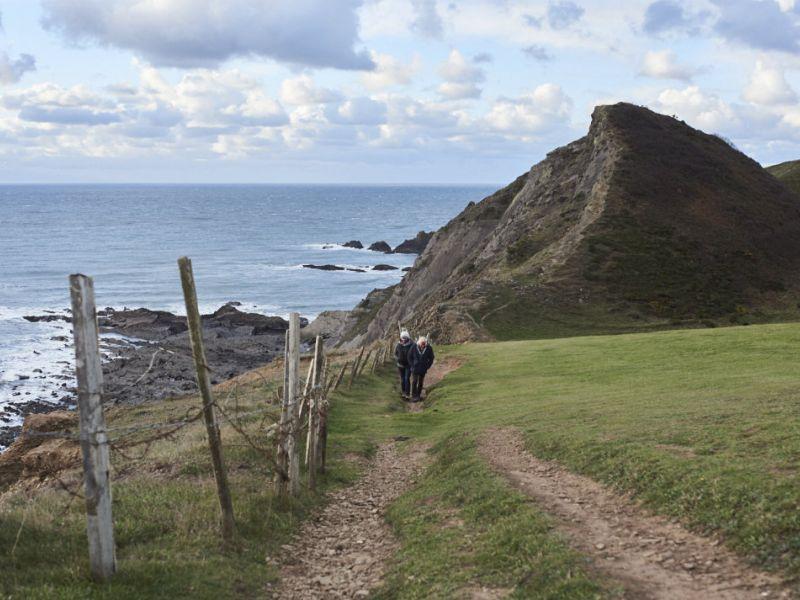 Bideford an der Nordküste von Devon, Südengland
