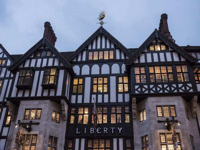 Loja de departamentos Liberty em Londres, Inglaterra