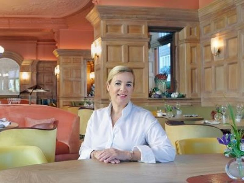 Helene Darroze at The Connaught awarded third Michelin star