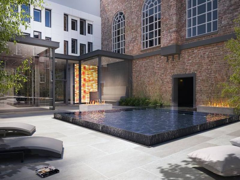 Credit to Hope Street Hotel, Liverpool - CGI of new spa