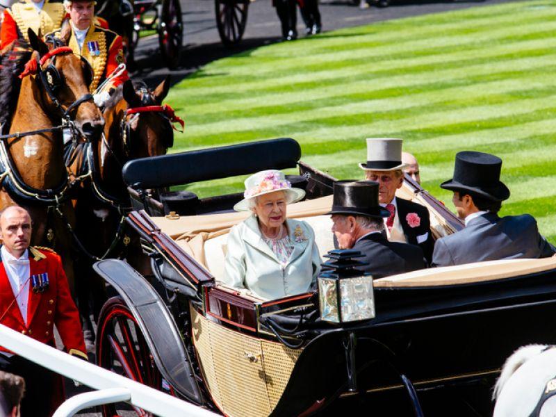 Royal Family in Ascot