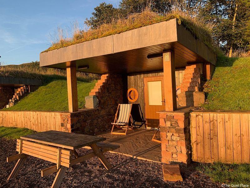 Cabin at The Quiet Site, Cumbria.